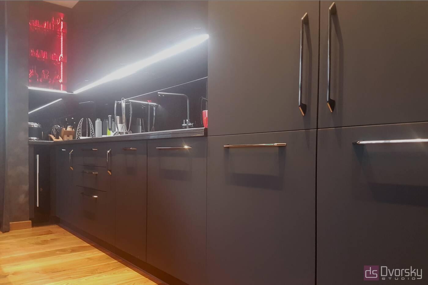 Прямые кухни Кухня