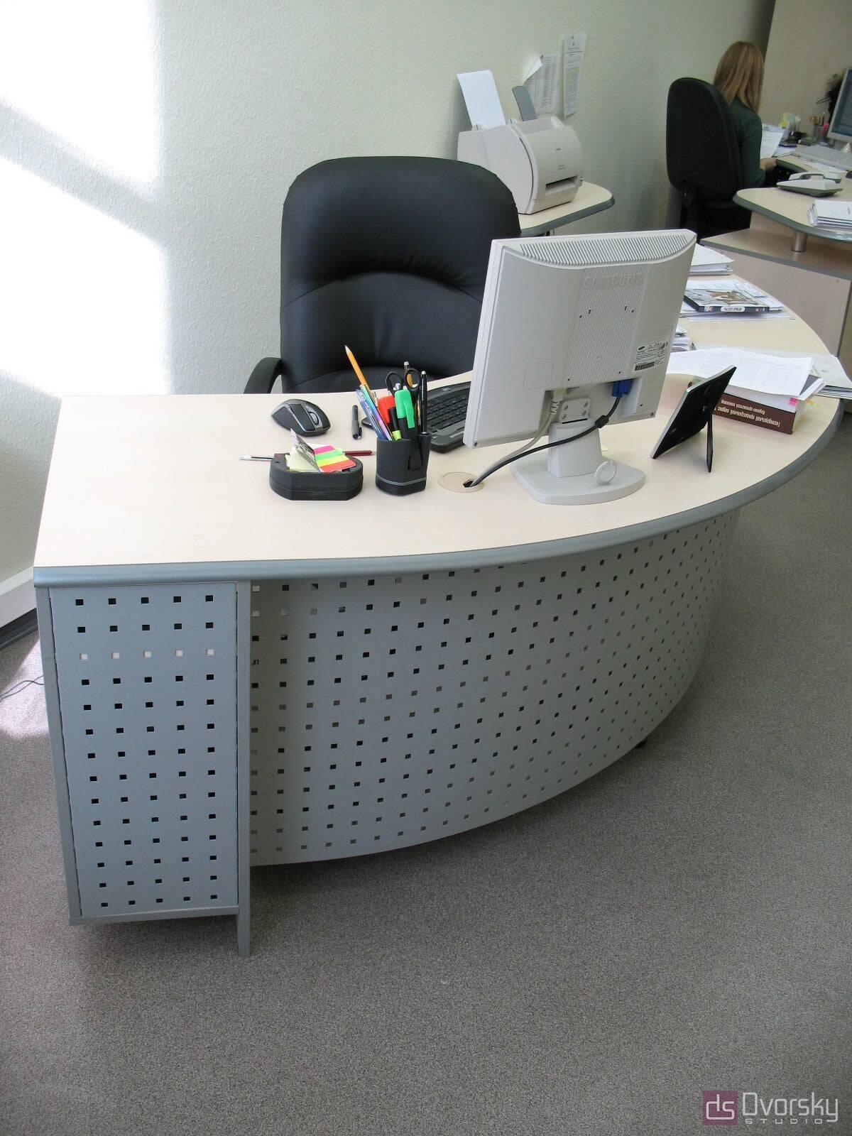 Офісні меблі Дизайн офісного гарнітуру - Фото № 2