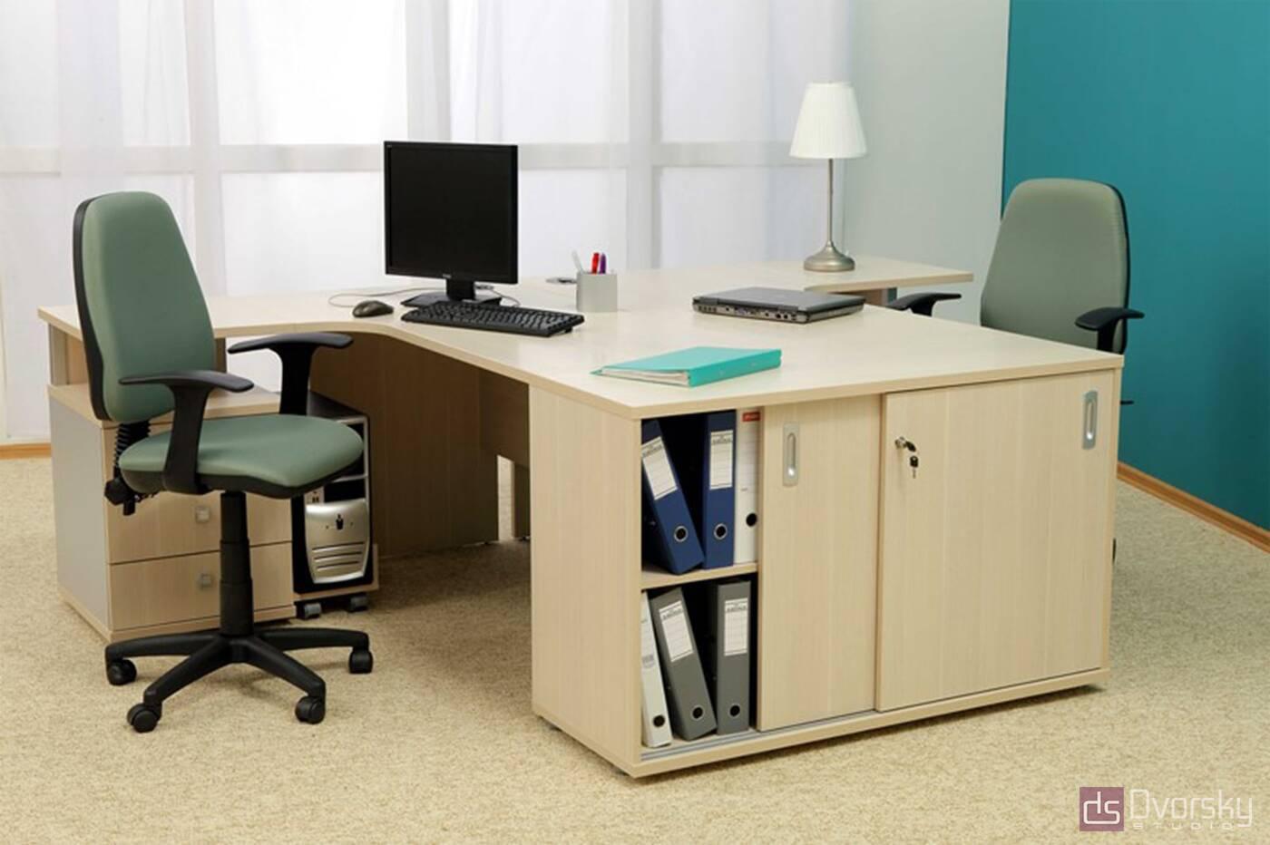 Офисная мебель Офисный стол для сотрудника - Фото № 1