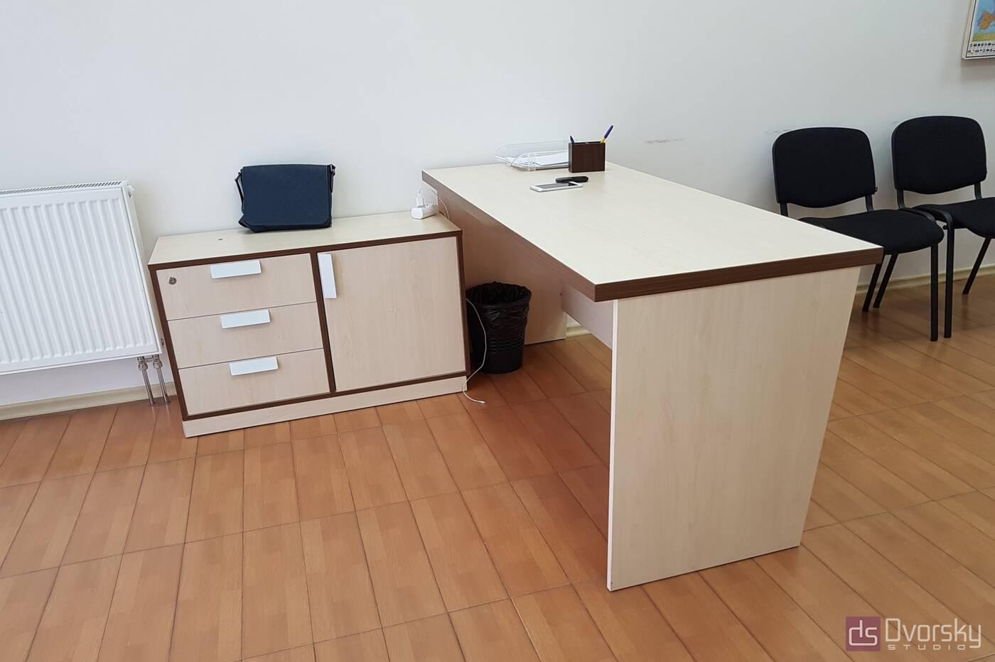 Офисная мебель Светлые офисные столы - Фото № 3