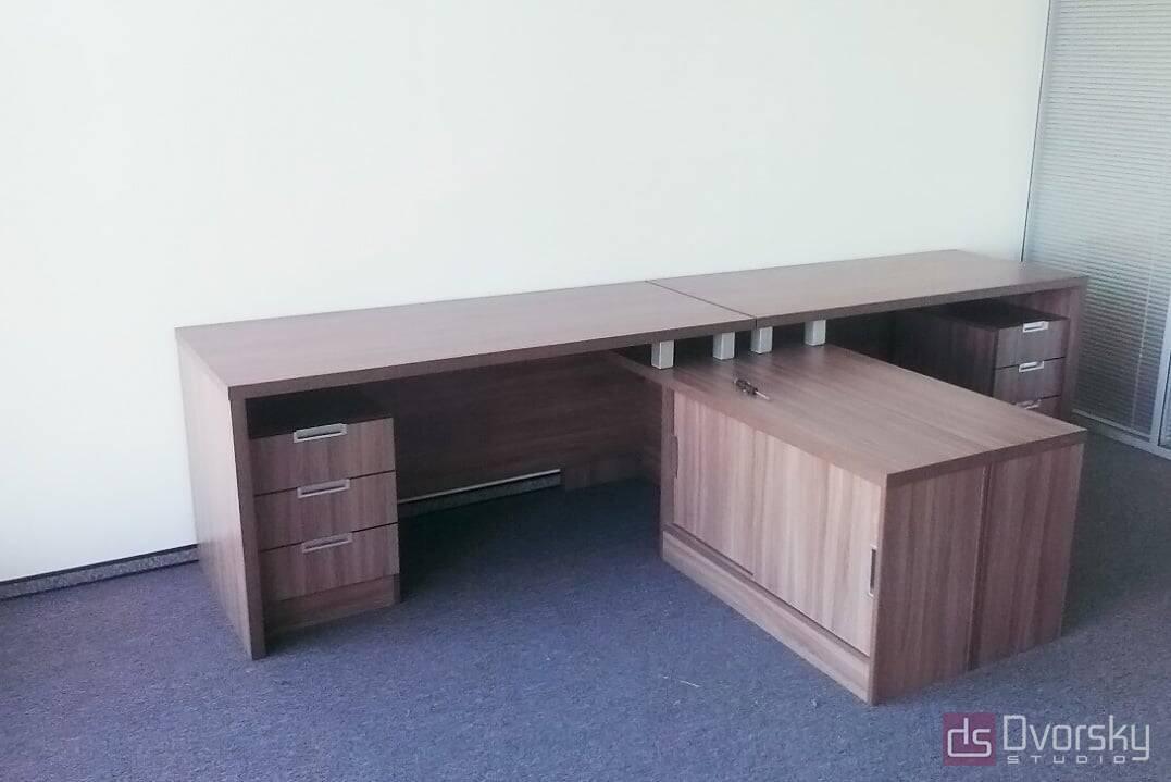 Офісні меблі Кутовий офісний стіл - Фото № 1