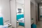 Шафи купе Вбудована шафа купе в спальню - Фото № 1