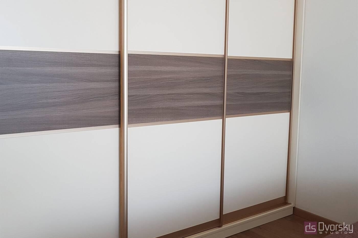 Шкафы купе Шкаф купе на три двери - Фото № 1