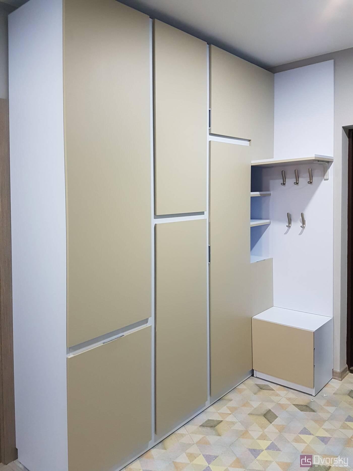 Шкафы распашные Шкаф распашной со скрытыми ручками - Фото № 2