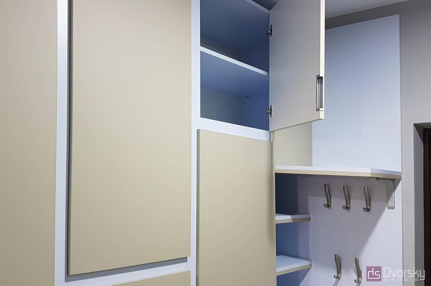 Шкафы распашные Шкаф распашной со скрытыми ручками - Фото № 1