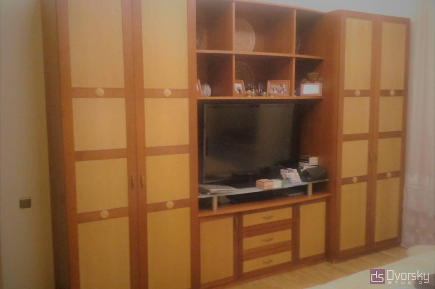 Шкафы распашные Шкаф распашной из ольхи - Фото № 1