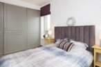 Спальні Спальня в пастельних тонах - Фото № 1