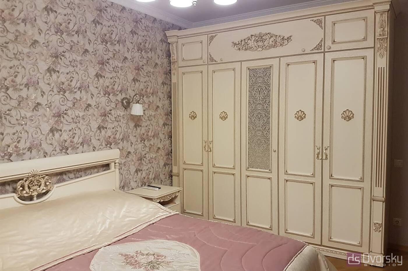 Спальни Спальня в классическом стиле - Фото № 1