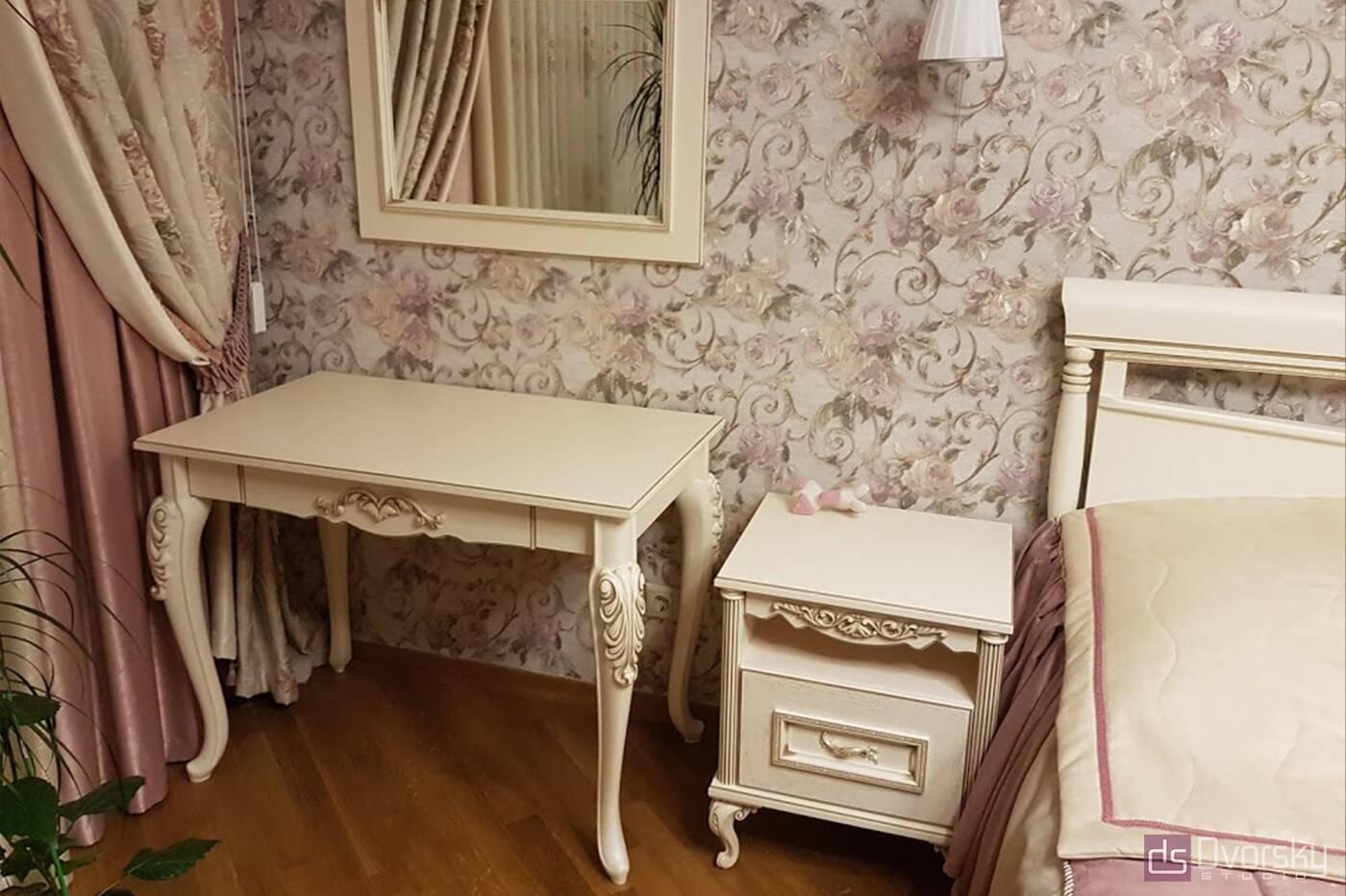 Спальни Спальня в классическом стиле - Фото № 2