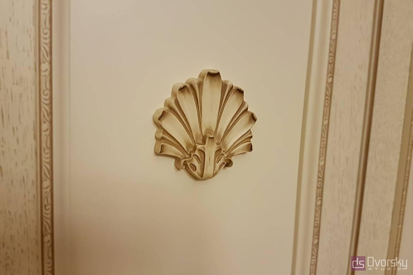 Спальни Спальня в классическом стиле - Фото № 5