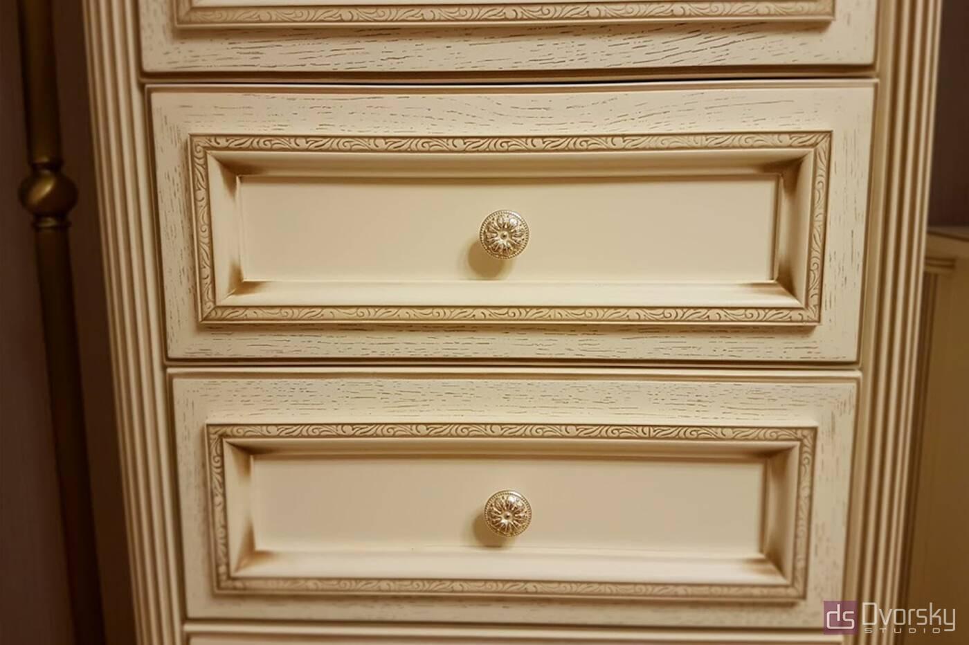 Спальни Спальня в классическом стиле - Фото № 6