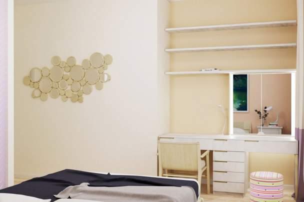 Визуализация и реализация спальни