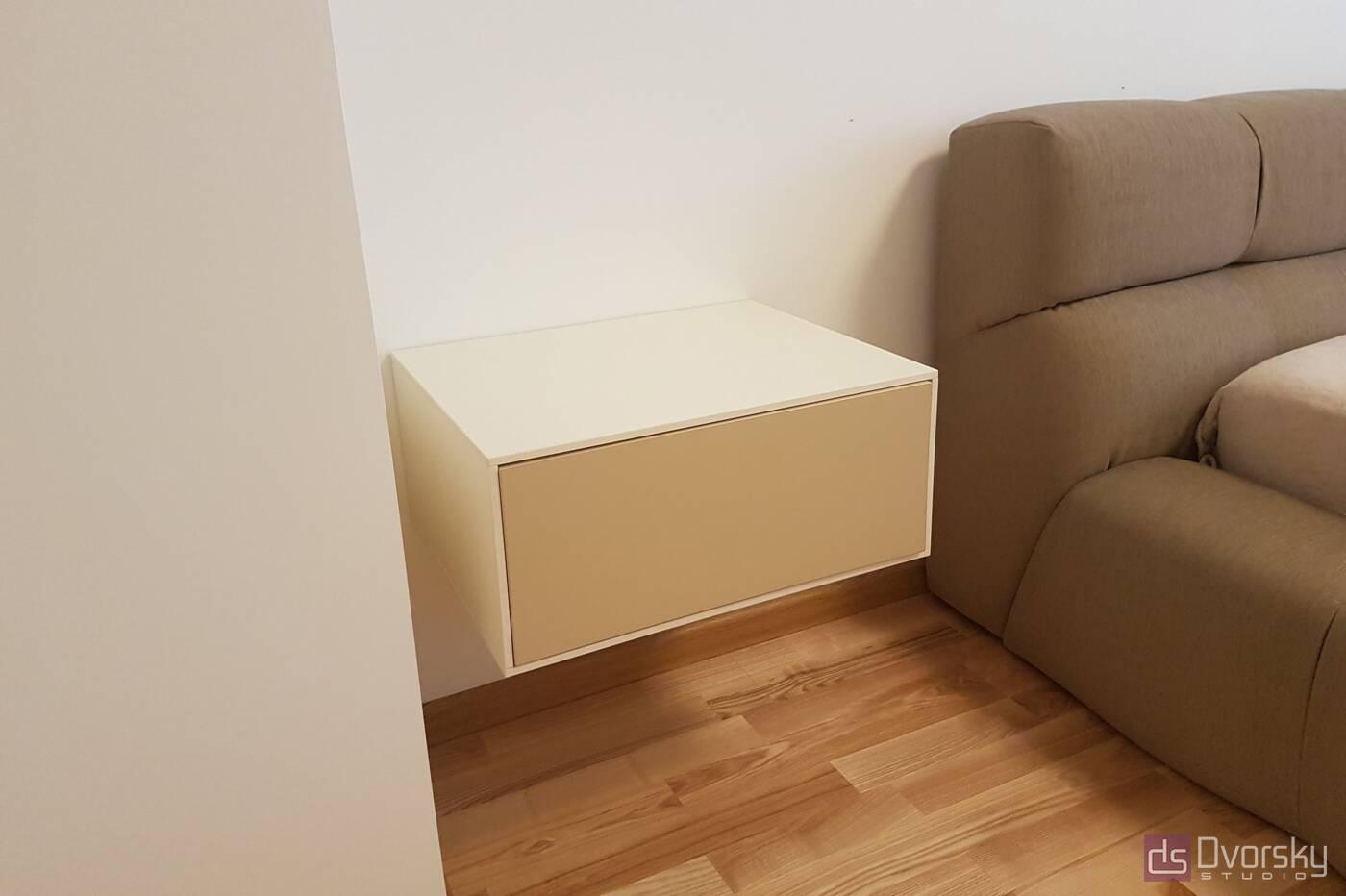 Спальни Геометрический шкаф для спальни - Фото № 2
