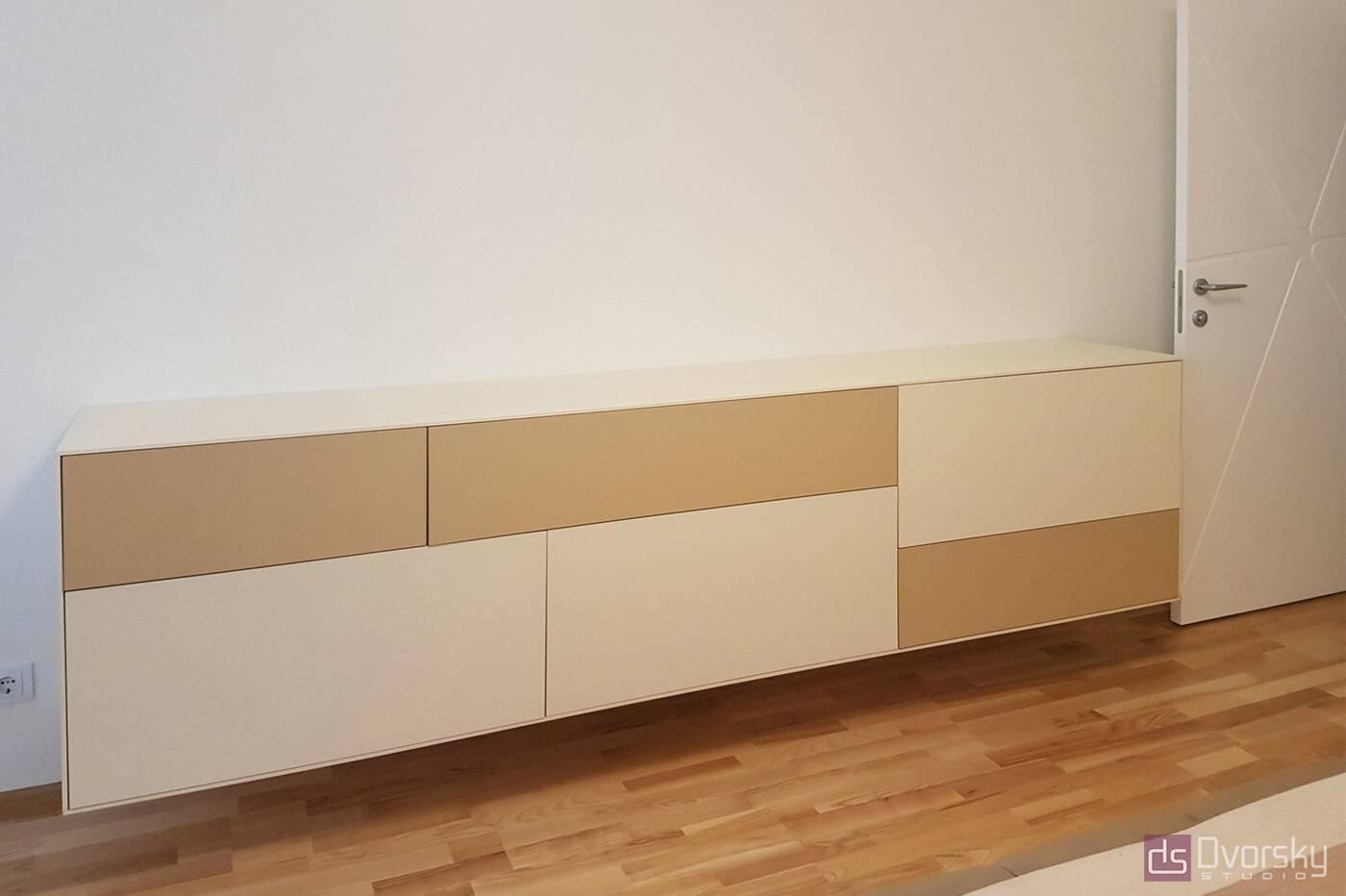 Спальни Геометрический шкаф для спальни - Фото № 3