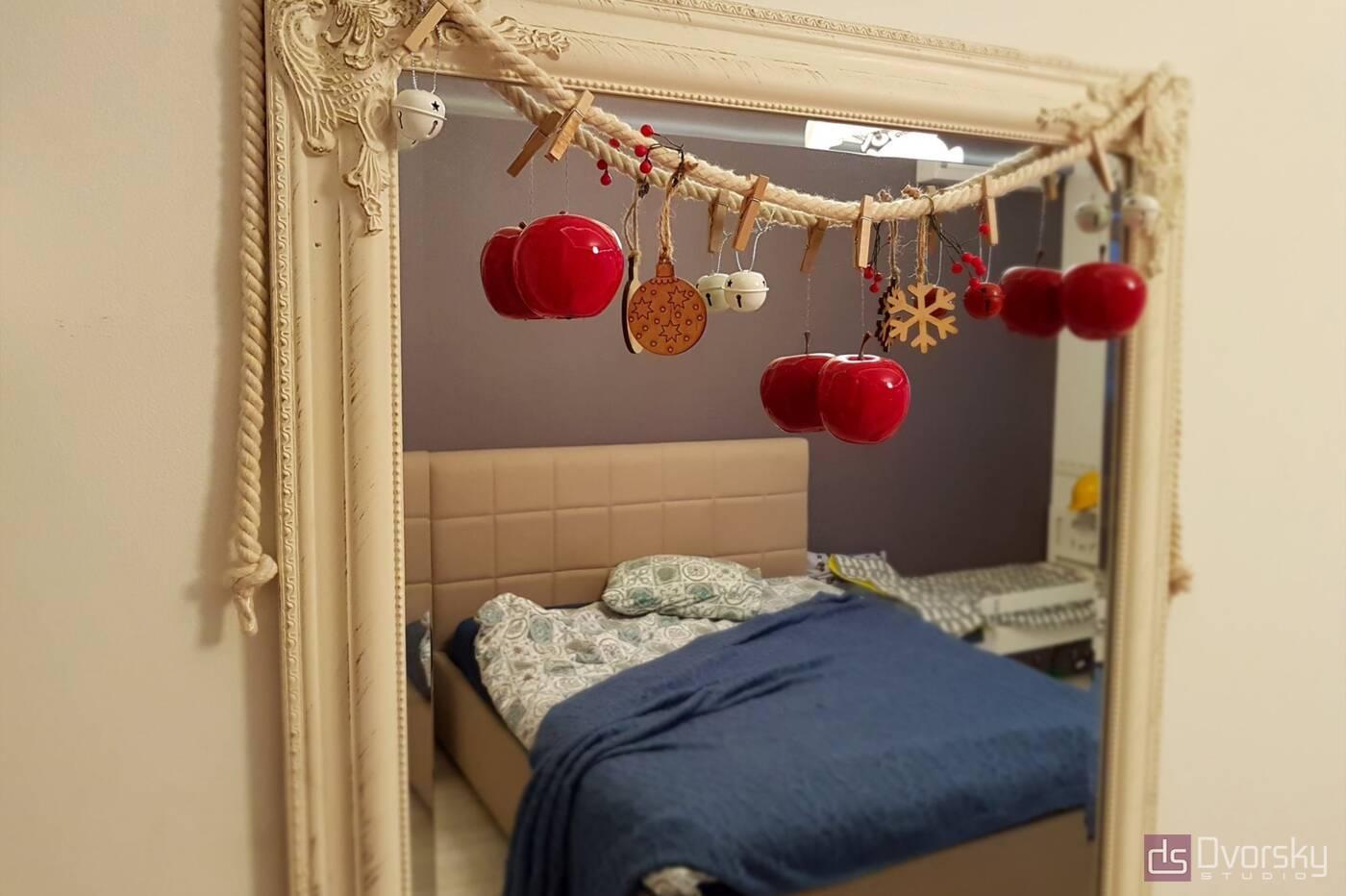 Спальні Спальня з 3-х дверною шафою - Фото № 5