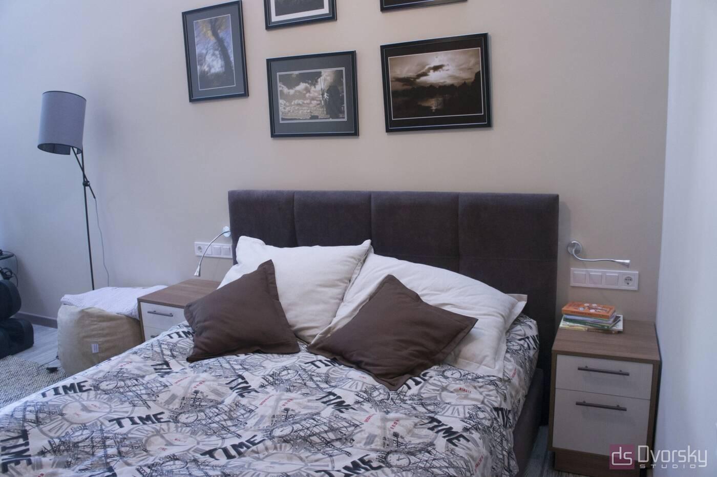 Спальні Спальня з вузьким ліжком - Фото № 1