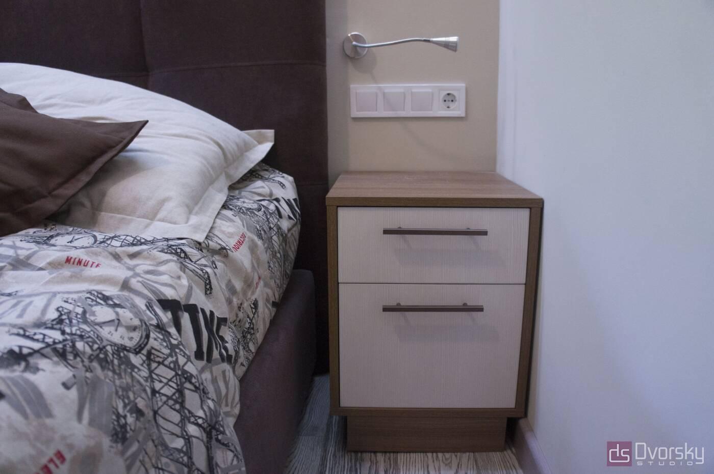 Спальні Спальня з вузьким ліжком - Фото № 2