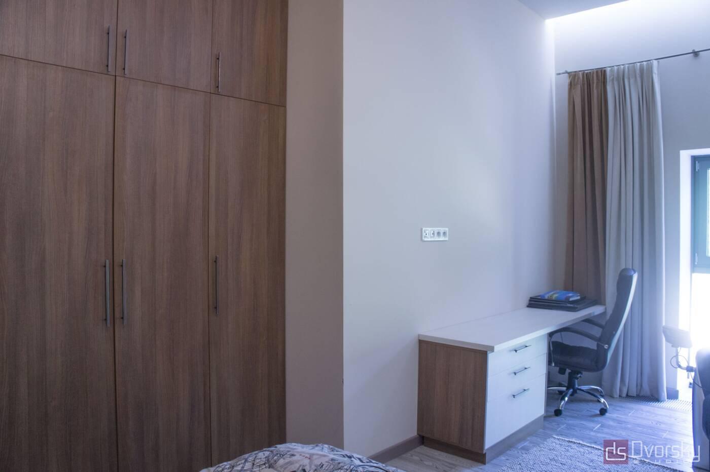 Спальни Спальня с узкой кроватью - Фото № 5