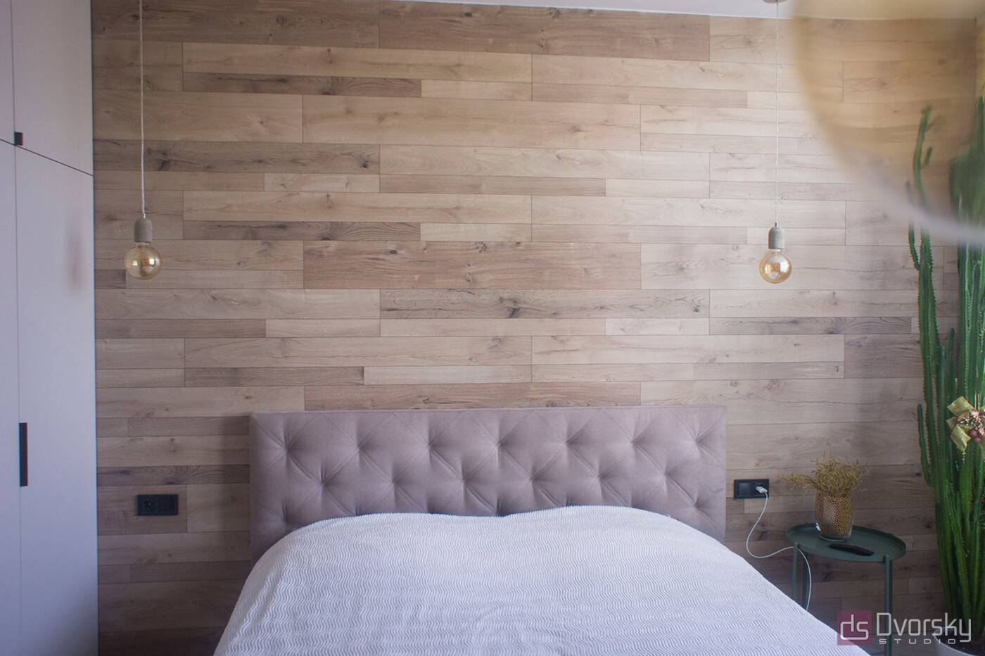 Спальні Затишна маленька спальня - Фото № 1