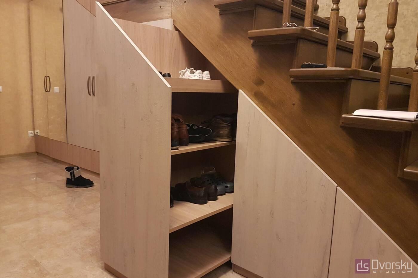 Меблеві стінки Меблева стінка під сходами - Фото № 5