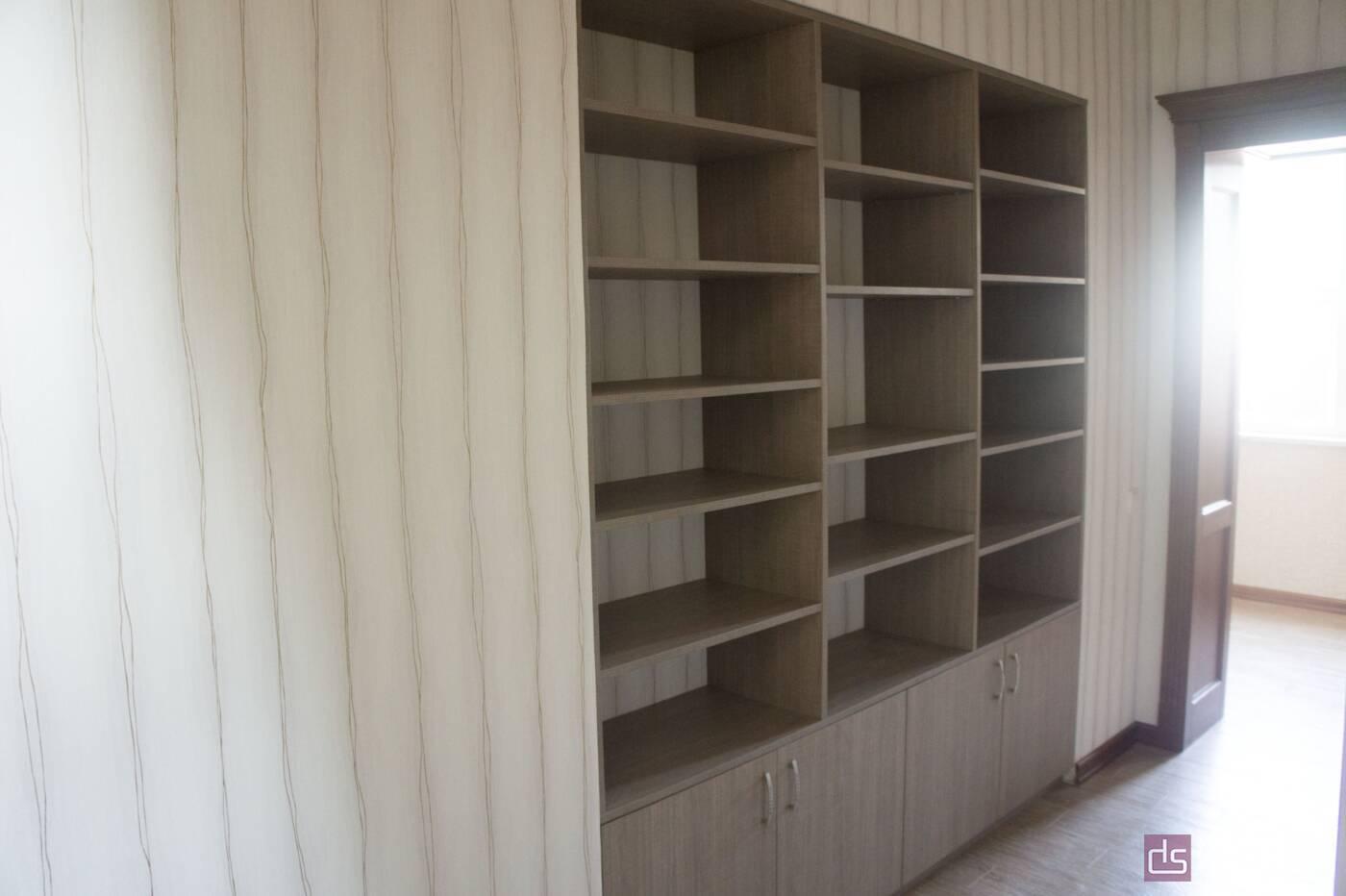 Мебельные стенки Мебельная стенка со стеллажами - Фото № 1