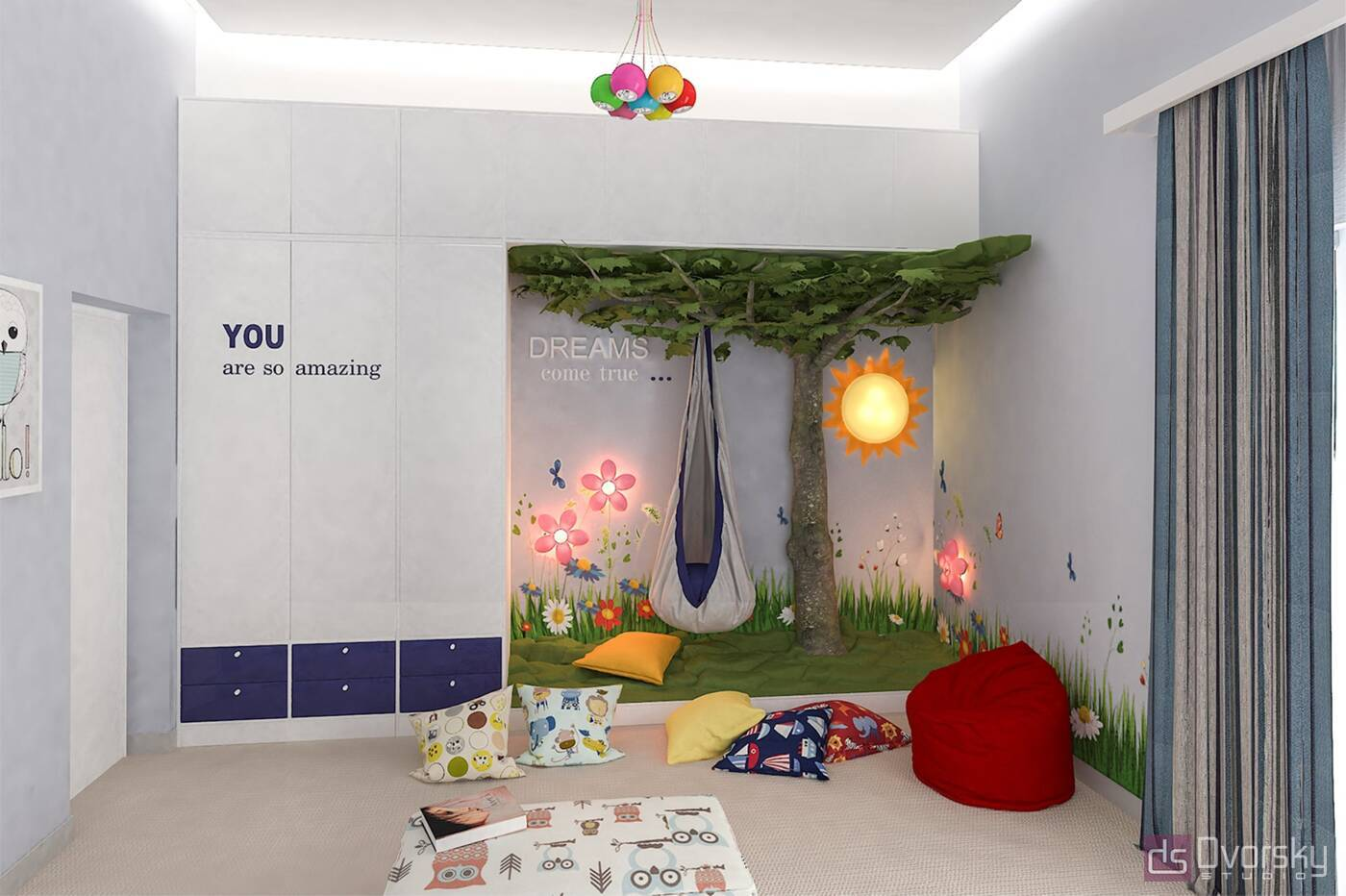 Мебельные стенки Мебельная стенка - шкаф в детскую - Фото № 2