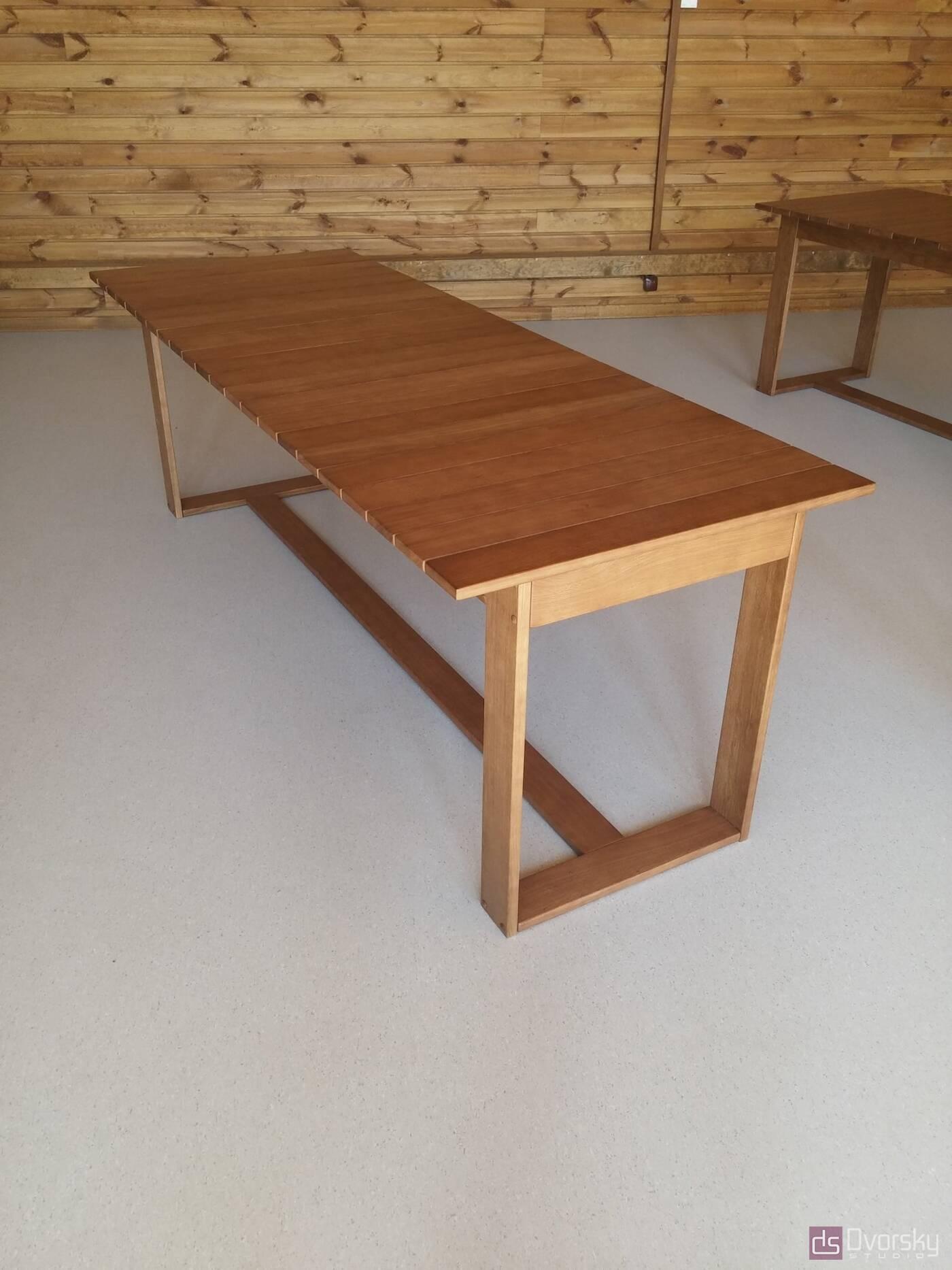 Разное Обеденный стол из натурального дерева - Фото № 2