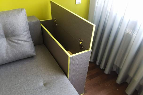 Фото ящика для постели