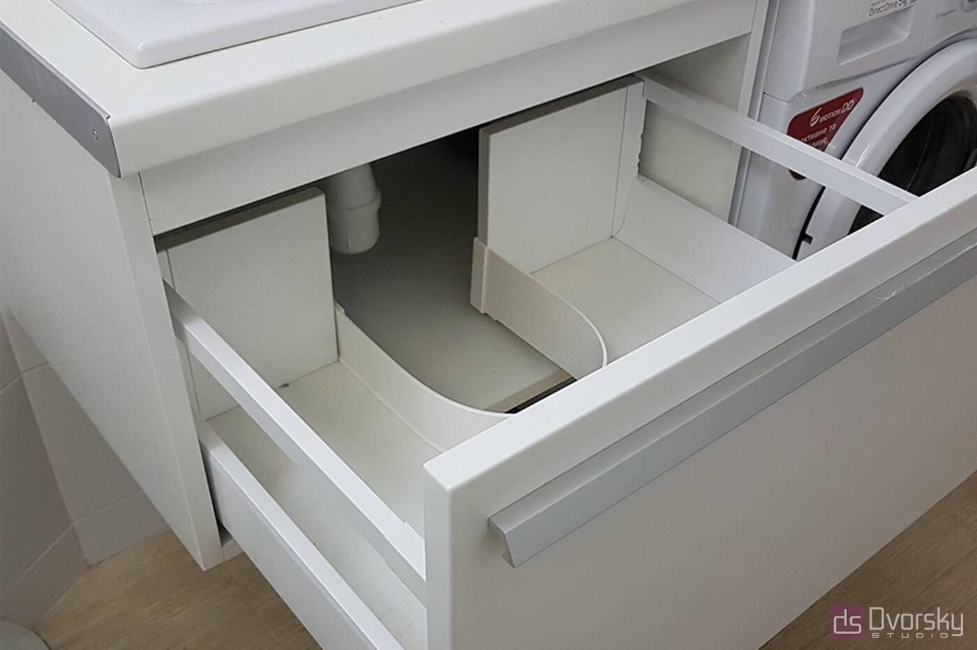 Мебель для ванной Белая ванная комната - Фото № 1