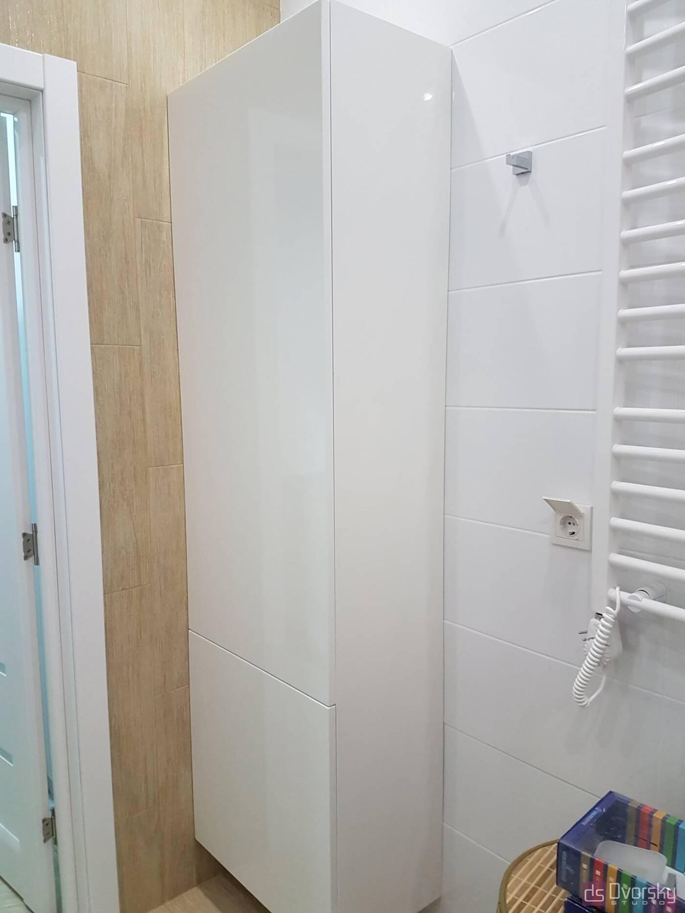 Мебель для ванной Белая ванная комната - Фото № 2