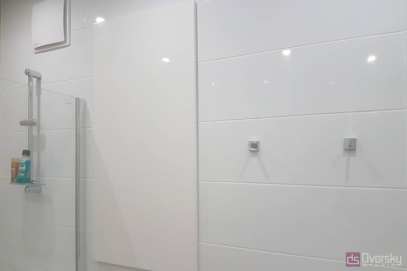 Мебель для ванной Белая ванная комната - Фото № 3