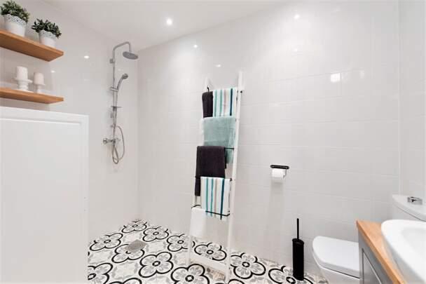 Вешалка для ванных полотенец