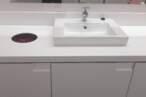 Меблі для ванної Стільниця врівень з фасадами для ванної - Фото № 1