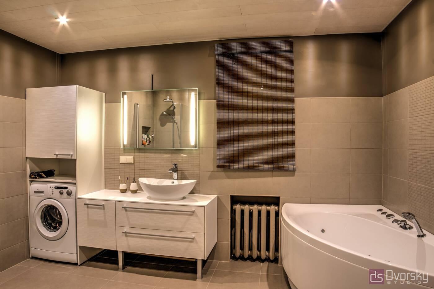 Меблі для ванної Традиційна ванна кімната - Фото № 1