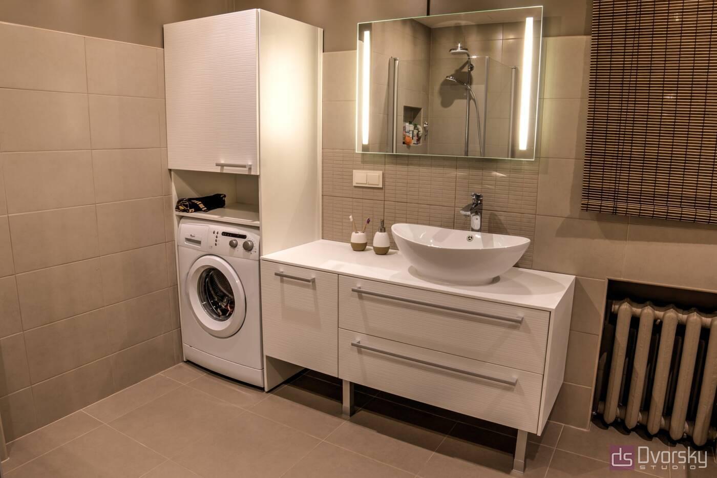 Меблі для ванної Традиційна ванна кімната - Фото № 2