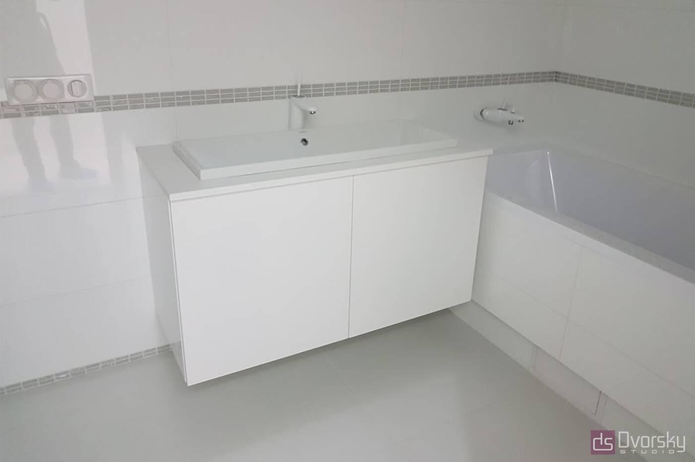 Меблі для ванної Тумба для ванної мінімалізм - Фото № 1
