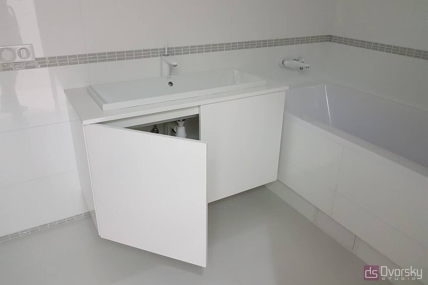 Меблі для ванної Тумба для ванної мінімалізм - Фото № 2