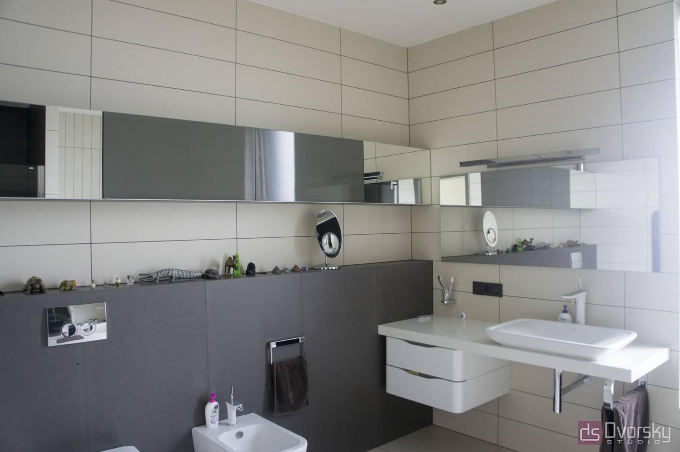 Меблі для ванної Дзеркальна полиця у ванну кімнату - Фото № 1