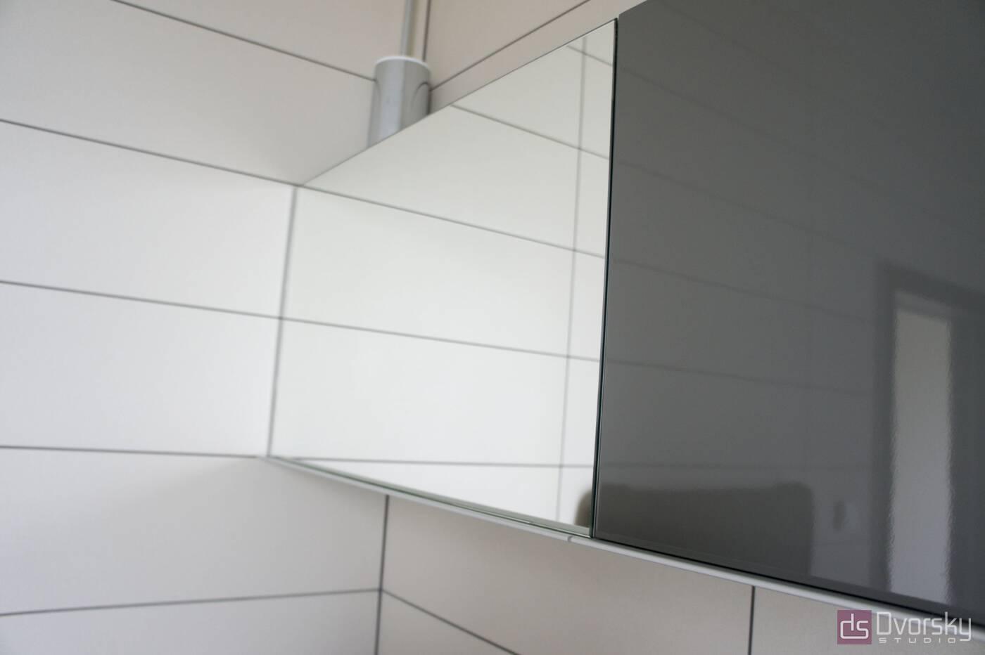 Меблі для ванної Дзеркальна полиця у ванну кімнату - Фото № 2