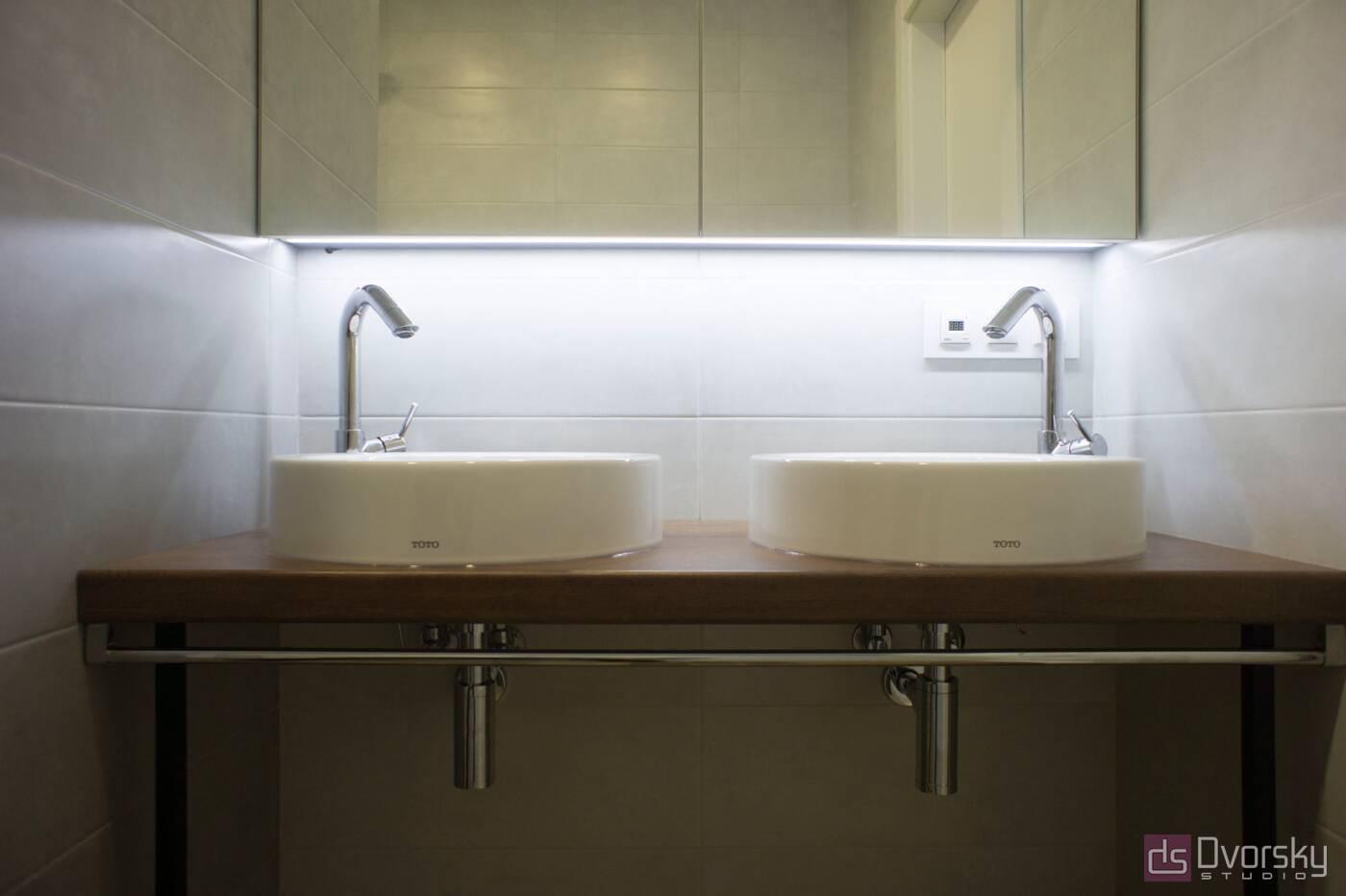 Мебель для ванной Ванная с двумя раковинами - Фото № 1