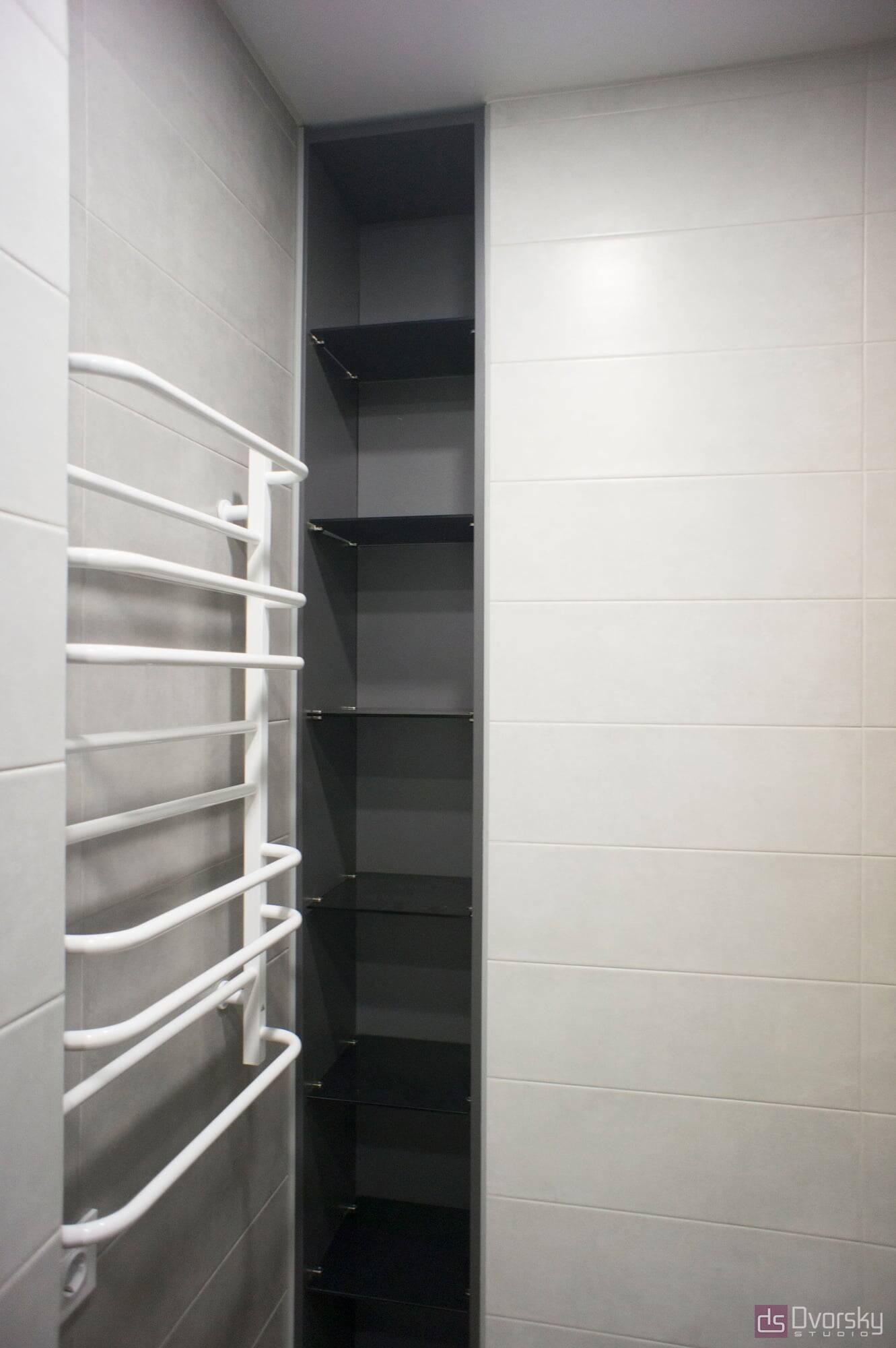 Мебель для ванной Ванная с двумя раковинами - Фото № 4